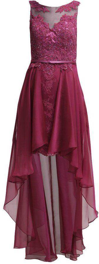 Luxuar Fashion Ballkleid beere