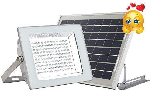 #shopping One year's warranty. #MicroSolar FL4-B Solar Flood Light. * HEAVY DUTY Aluminum Light Fixture. Enhanced Waterproof Ability than Old Version. *120 pcs N...