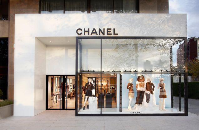 Chanel facade | Shopfront Design | Pinterest | Chanel, Facades and ...