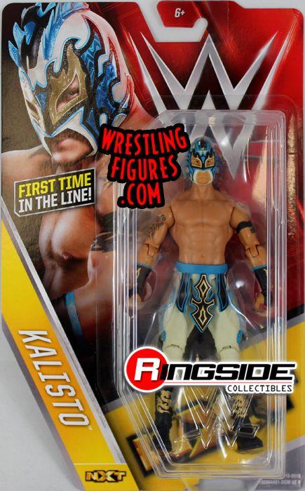 Kalisto - WWE Series 60 WWE Toy Wrestling Action Figures