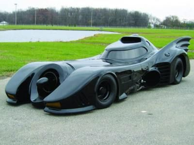 Bat Mobile It would be fun to take a spin in this, haha!!
