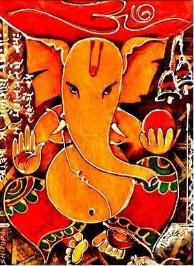 Shirupa's Art Gallery: Ganesha