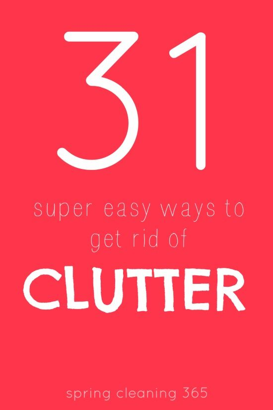 17 best images about clutter help on pinterest anxiety for Ways to get rid of clutter