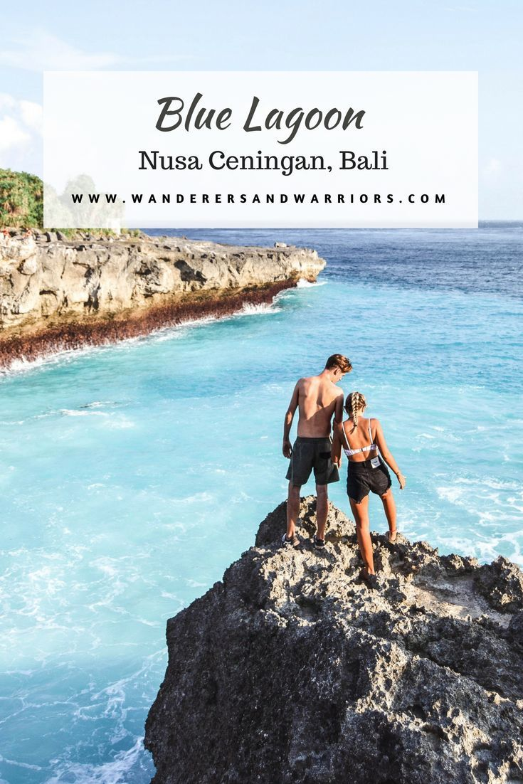 blue lagoon nusa ceningan bali places to visit bali travel rh pinterest com