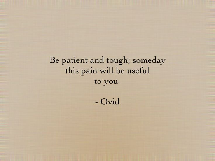 Ovid is sooo wise