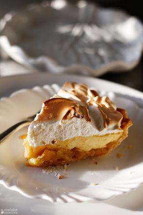A Cozinha Coletiva: Torta Merengue de Maçã e Creme