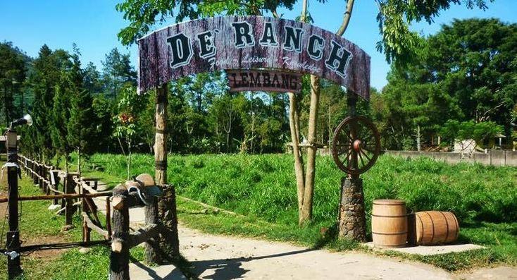 De'Ranch adalah juga destinasi wisata favorit yang sangat digemari anak-anak serta banyak keluarga. Destinasi wisata Bandung yang satu ini menghadirkan kegembiraan berkuda ala cowboy
