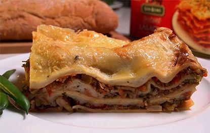 'Freezer Proof' Vegetable Lasagna