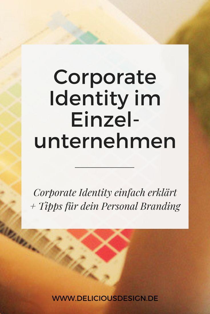 Corporate Identity Im Einzelunternehmen Mit Bildern