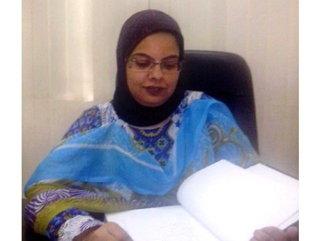 Dr. Mariam Sultana, first woman to earn a Ph.D. in astrophysics in Pakistan