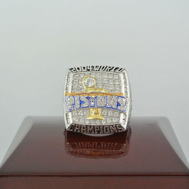 2004 Detroit Pistons Basketball World Championship Ring