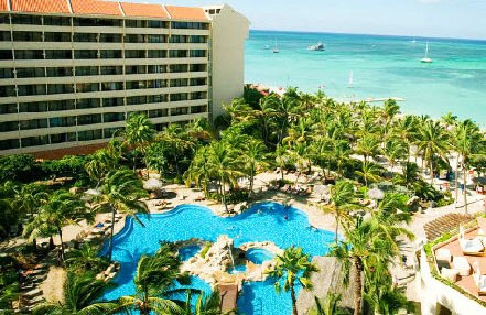 Honeymoon hotel (was Americana Aruba at the time) Occidental Grand Aruba - All-Inclusive