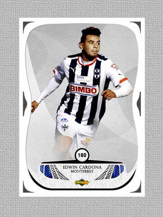 Tarjeta Edwin Cardona, El nuevo goleador de @Rayados