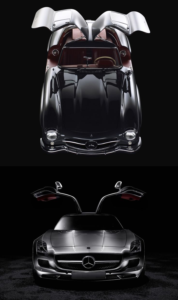 Experience the link between the old classic mercedes