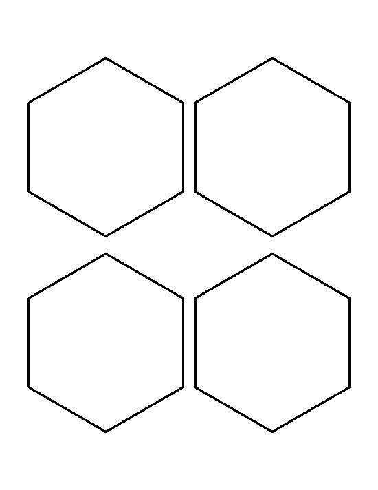 3 inch hexagon template - 1478 best printable patterns at images