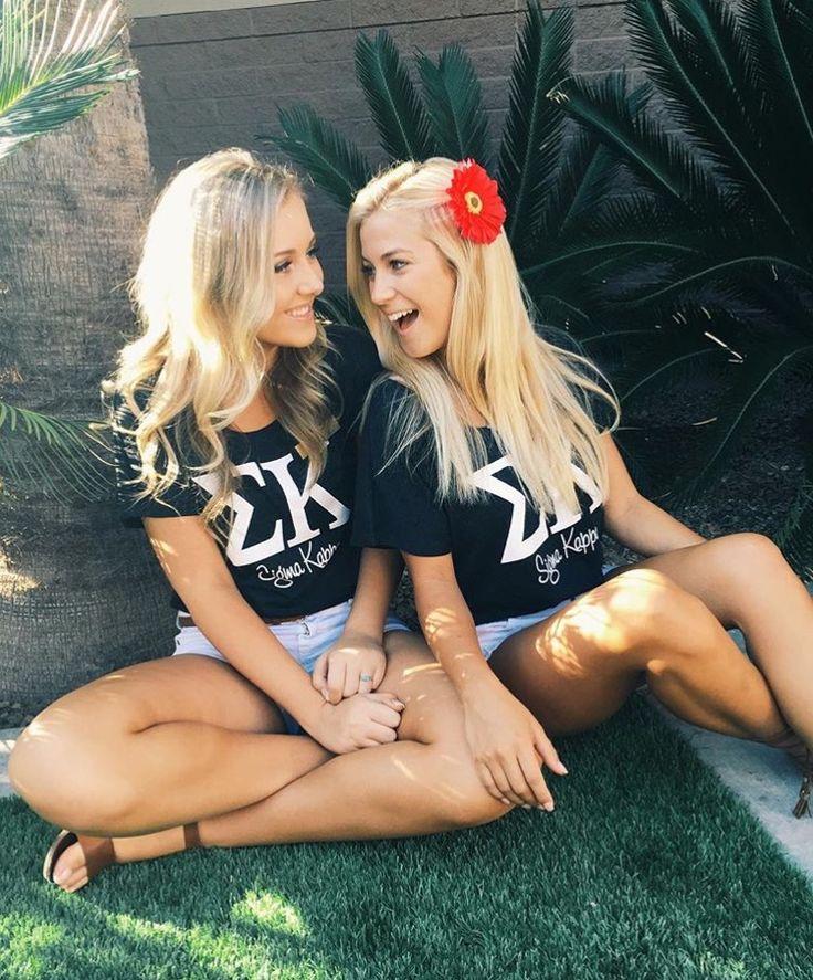 Sigma Kappa Set One Recruitment Shirts made by Bloom Sorority Apparel