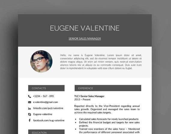 33 best CV template, Resume template, design and usability images - resumes that sell you