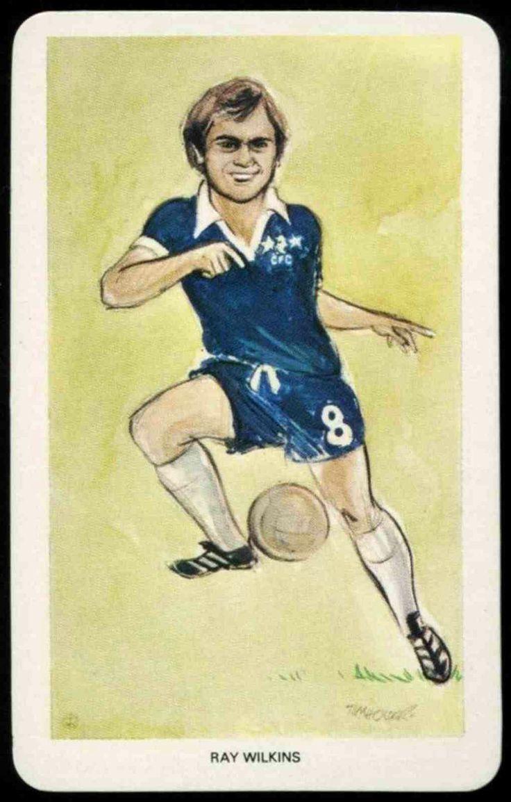 Ray Wilkins of Chelsea in 1976.