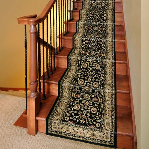 Details about 2539 stair runner carpet rug marash luxury for Luxury stair carpet