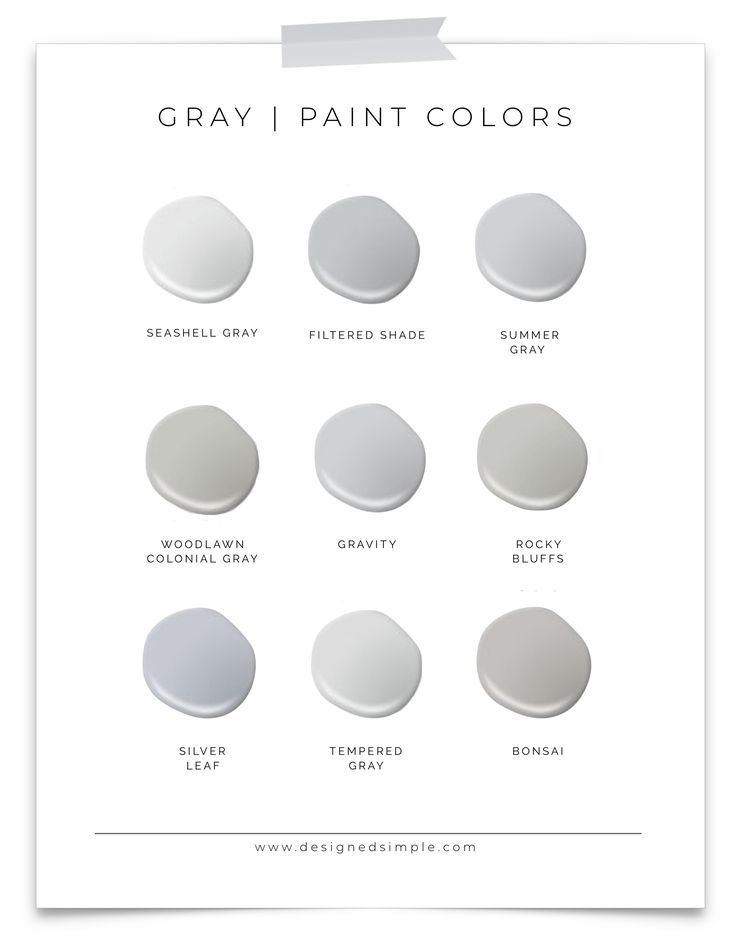 Valspar Gray Paint Colors Favorite Grays In Our Home Designed Simple Designedsimple Com Valspar Paint Colors Gray Office Paint Colors Lowes Paint Colors