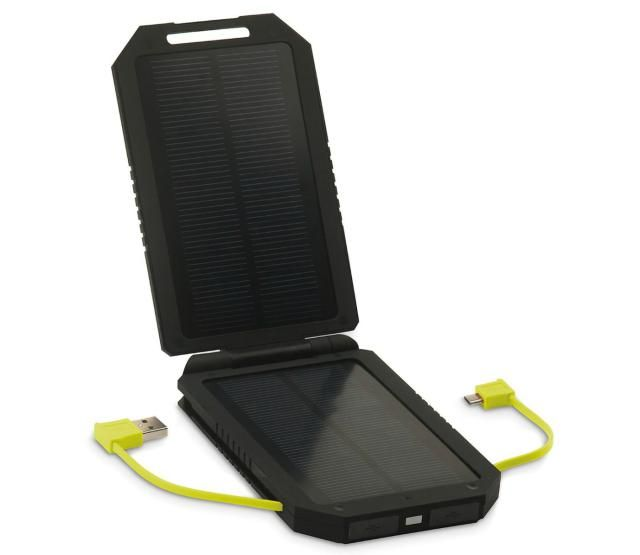 Essential Travel Gear for Family Vacations | SeCur Sun Power Bank 6000 is a solar-powered solution for recharging when you're off the grid. | About.com Family Vacations