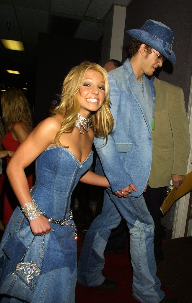 """""""Yep, I'm taking him home."""" — nothing like a Britney Spears and Justin Timberlake blast from the past!"""