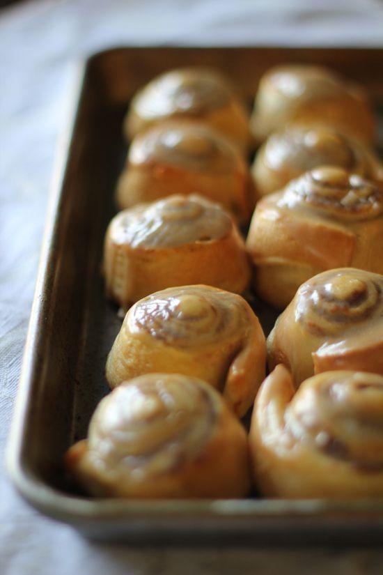Pumpkin Cinnamon Rolls For Less Than 80 Calories! #HealthyDesserts #Thanksgiving #Breakfast #Holidays #Fall