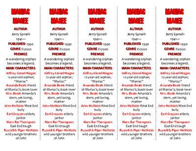 Maniac Magee Book Trailer   Book Trailers   Pinterest   Maniac