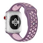 Silicone Sport Band for Apple Watch Nike+ iWatch Series 3 2 1 Strap Replacement - $7.99 - 7.99
