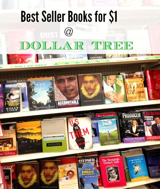 DOLLAR TREE BOOKS