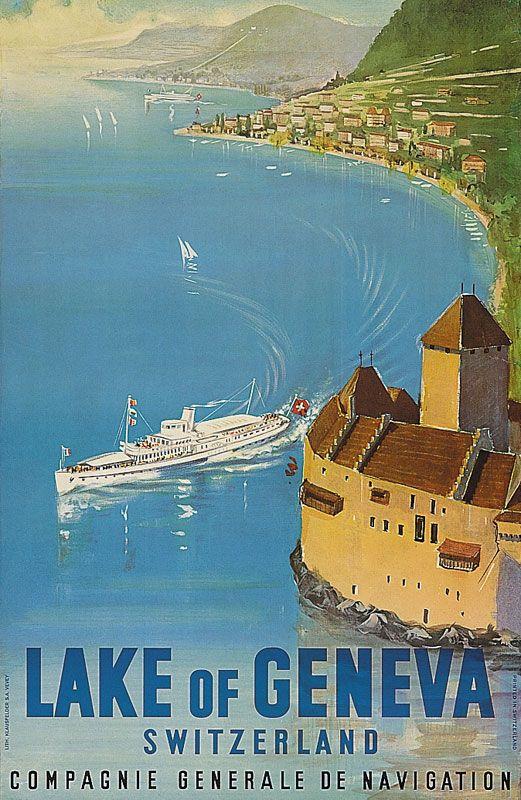 Compagnie Générale de Navigation ~ Lake Geneva ~ Switzerland