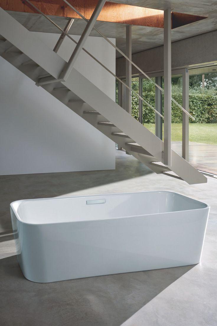 Bette Art Badewanne freistehend, 180x75cm, 2 R�ckenschr�gen, 3480 CFXXK