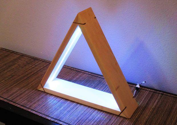 DIY LED Light - Modern Desktop Mood Lamp With Remote ...