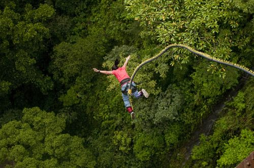 http://365hops.tumblr.com/post/111463487347/bungee-jumping-in-rishikesh >> Bungee jumping in Rishikesh – Take a plunge and experience the thrill of free falling  #BungeeJumping #Rishikesh #India #Uttarakhand #365Hops