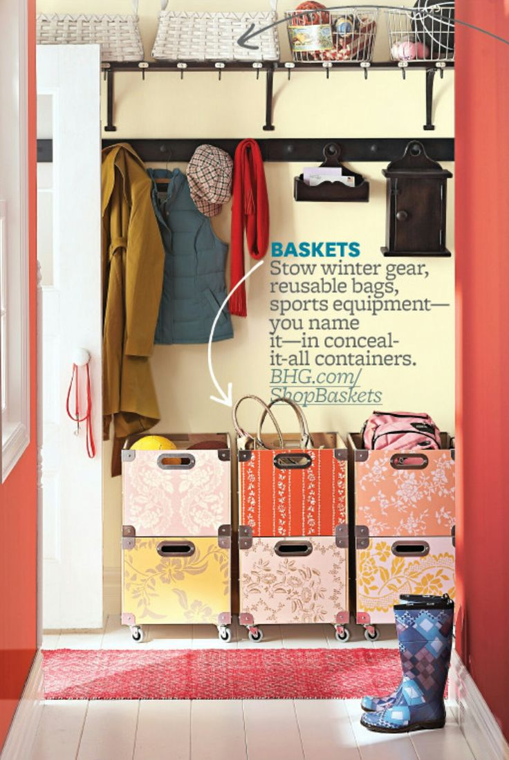 Top 25 Ideas About Entry Closet Organization On Pinterest