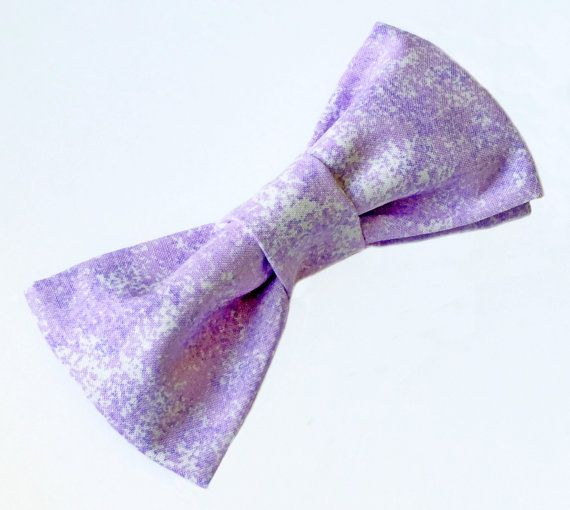 Purple Bow tie  Men's Purple Bow tie  Lilac by FlyTiesforFlyGuys