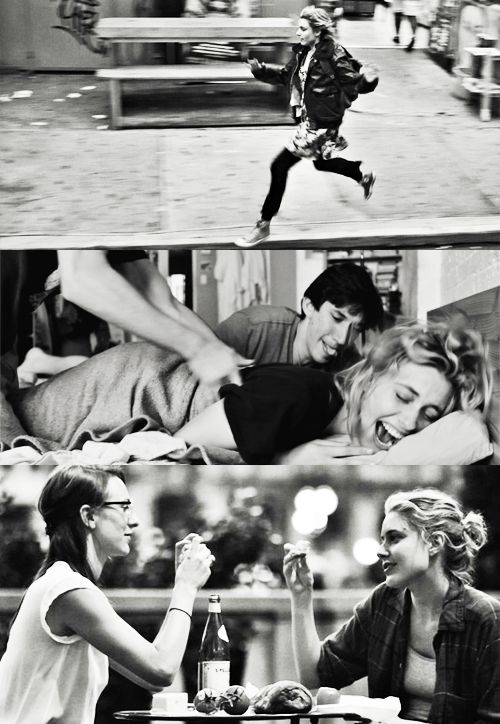 I'm so embarrassed… I'm not a real person yet. - FRANCES HA