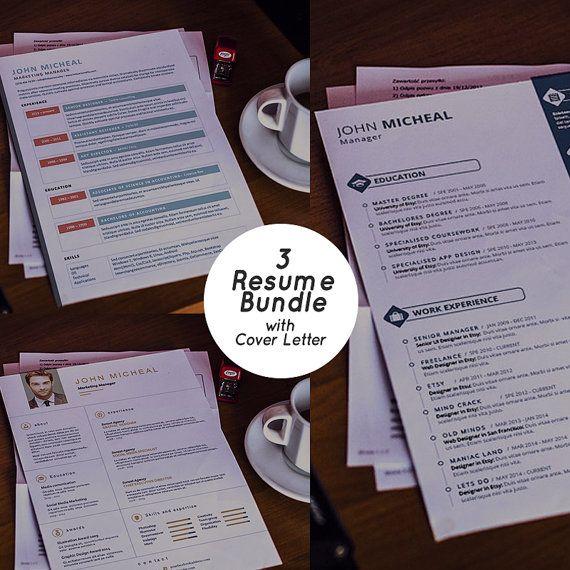Download Resume Bundles Templates CV