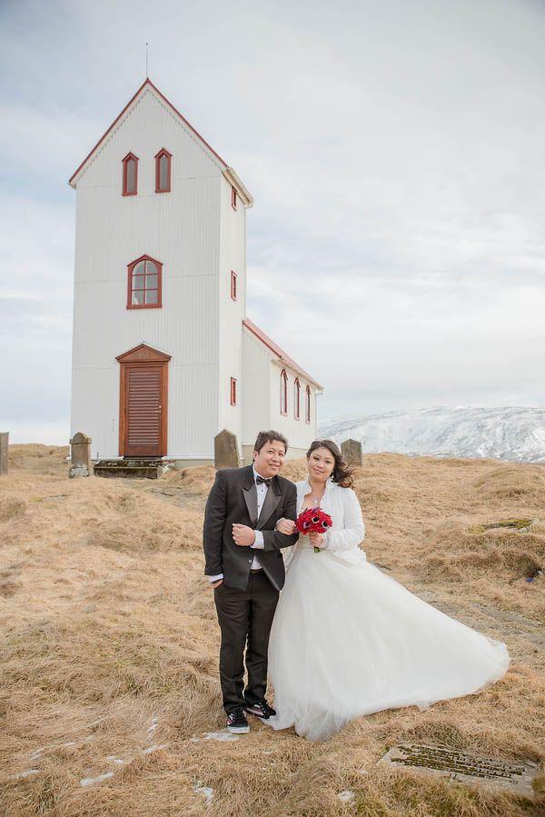 A Magical Icelandic Elopement at Úlfljótsvatn Church