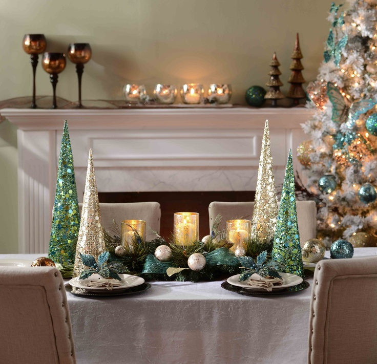 Holiday Home Design Ideas: Frost Collection #kirklands #seasonaldecor