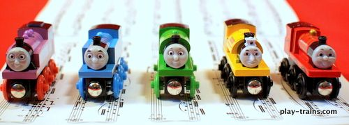 Classical Train Music: Encouraging a Love of Music through a Child's Favorite Things @ Play Trains! http://play-trains.com/classical-train-m...