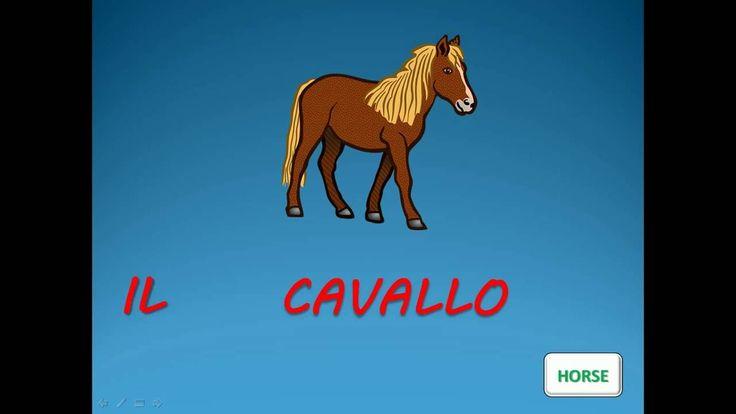 ITALIAN VOCABULARY : ANIMALS - Vocaboli italiani : animali - ITALIAN LES...