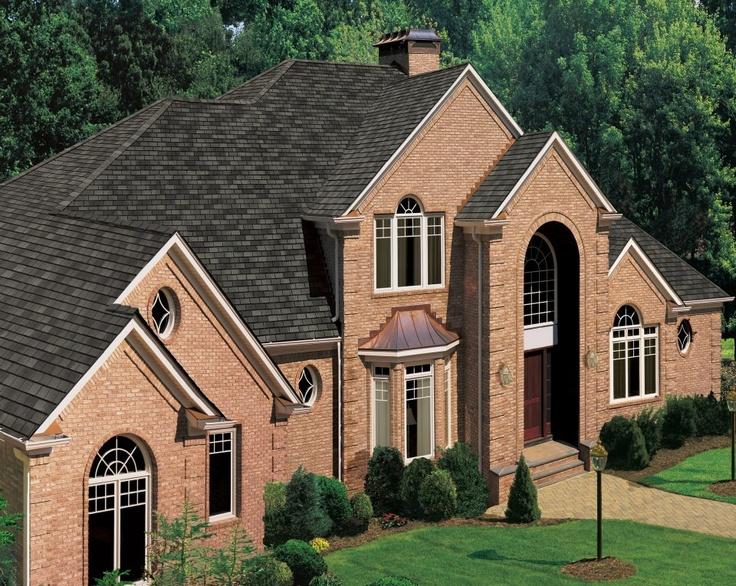 Best Gaf Grand Slate Shingles In Essex Green Roof Design 400 x 300