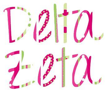 Delta Zeta love!