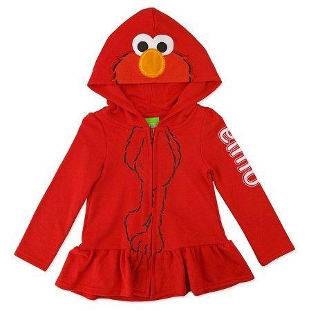 www.target.com p toddler-girls-elmo-costume-sweatshirt-red - A-51780162