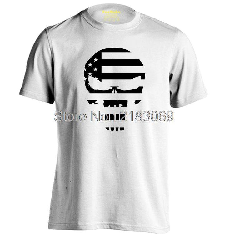 American Sniper Chris Kyle Mens & Womens casual round neck T shirt Printing T Shirt