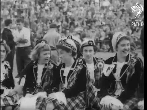 Strathspey reel - Edinburgh international festival 1955