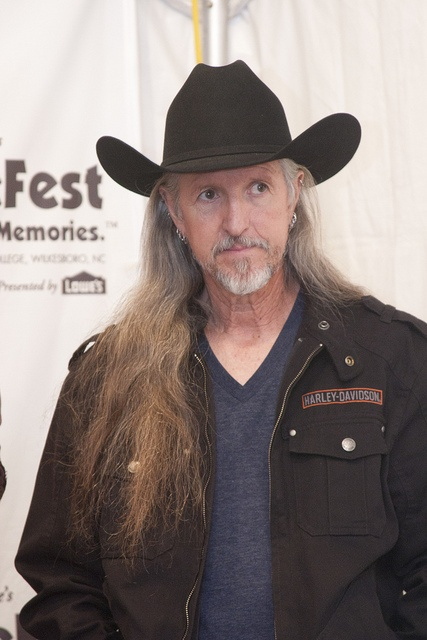 Pat Simmons of the Doobie Brothers.he's very talented.he has written some of the doobie brothers best songs.