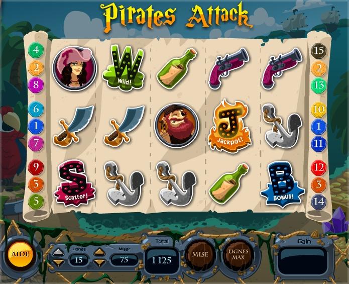 Pirates Attack Room - La Riviera