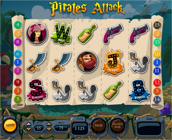 Pirates Attack Room - La Riviera